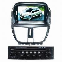 Car DVD GPS Navigation Player for Peugeot 207 with Strong Receiver for Radio Manufactures