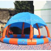 Commerical Grade Inflatable Water Swimming Pool with Tent for water park Manufactures