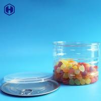 China Large Capacity Clear Plastic Cans Round Sturdy CompressionResistance on sale