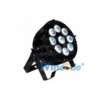 China Led Par 64 Cans Waterproof IP65 , 9*10W LED Par Stage Light RGBW 4 In1 on sale