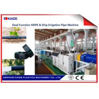 China Professional Drip Irrigation Pipe Production Line For 12-20mm Drip Pipe/Drip Lateral Making Machine on sale