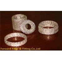 SUS304 / 304L / 316 / 316L Stainless Steel Knitted Wire Mesh for Liquid Filtration Manufactures