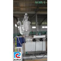 SIngle Screw PE / PP / PPR Water Supply Pipe Plastic Pipe Extruder Machine Manufactures