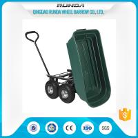Landscape Utility Garden Mesh Cart Platform Structure 150kgs Load For Yard Waste Manufactures