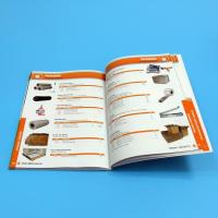 Paper / Paperboard Perfect Binding Catalogue Printing Service Customized A4 / A3 / A5 Manufactures
