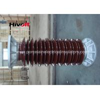 110KV Brown Color Hollow Core Insulators Excellent Mechanical Performance Manufactures