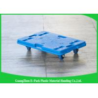 150KG 4 Wheel Cart Dolly  For Plastic Crate , Recyclable Heavy Duty Moving Dolly Manufactures