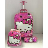 Hot sale 16-inch 6D EVA Children luggage  3 pcs in the 120th Canton Fair Manufactures