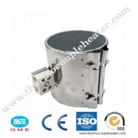 China 12v Stainless Steel infrared energy saving extruder Mica band heater with k type thermocouple on sale