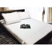 China Linen Pro Flat Quilted Protect A Bed Mattress Protector For 5 Star Hotel on sale