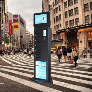 Winnsen Advertising Smart Phone Charging Kiosk RFID Operated Glass Door Locker Manufactures