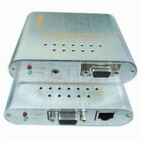 VGA Video Extenders with PC/VGA Splitter, VGA/Audio Interface, Can Extend VGA Video from PC to 150m Manufactures