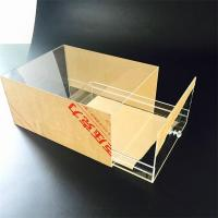 High Quality Transparent Acrylic Sneaker Box for sale Manufactures