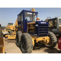 Second Hand Komatsu Small Motor Grader Gd505  With Well Maintenance Manufactures