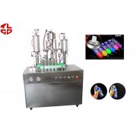 Snow Sprays / Party Strings Semi Automatic Aerosol Filling Machine In Party , Wedding , Festival Manufactures