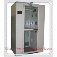 China White Color Clean Room Equipment Air Shower Cabinet With Electronic Interlock on sale