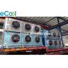 Double Side Air Blowing Evaporator Unit Refrigeration / Compressor Condenser Evaporator for sale