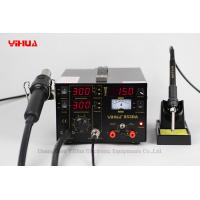 Hot Air Lead Free 3 In 1 Soldering Station , Electronic Soldering Stations Manufactures