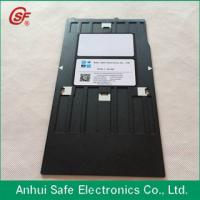 plastic inkjet pvc id card tray for Epson r230printer Manufactures