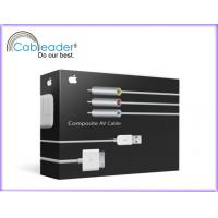 Component AV Cable for iPad 4.2 Version with factory price Manufactures