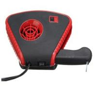 2 In 1 Auto Fan Heater With Light , Red Handheld Rechargeable Car Heater Manufactures