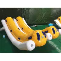 China Commercial 4 Persons Inflatable Water Toys / Inflatable Banana Boat Towable Tube For Skiing On Water on sale