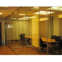 Glass Partition Walls , Folding Interior Glass Door , Demountable Partition Manufactures