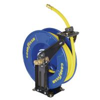 China Goodyear retractable wall mounted hose reel 15m hose Max. 300PSI on sale