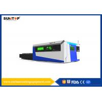 China Sheet Metal Fiber Optic Laser Cutting System With Laser Power 1500W on sale