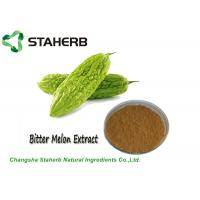 Anti Cancer Weight Losing Raw Materials Bitter Melon Extract Powder Charantin Contained Manufactures
