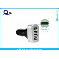 Quality Multiple Usb Automobile Charger with 4 Ports for Samsung Galaxy S7 S6 Edge S8 for sale