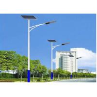 China 10M 115W Integrated Solar Led Street Light With 24V 50Ah Battery , High Bright on sale