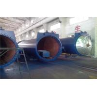 Safety Chemical Wood Autoclave Machine For Laminated Glass , High Pressure Manufactures