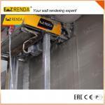 50/60 HZ Render Spray Machine , Gypsum Plastering Machine With Smooth Knife Manufactures