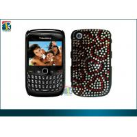 Fashionable Customized Diamond Bling Plastic Hard Cover For Blackberry Curve 8520 Manufactures