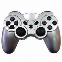 Wireless Gamepad/Controller with Dual Vibration Shock Feedback and 12 Analog Buttons Manufactures