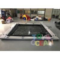 Commerical Gaint Inflatable Water Floating Sea Pool With Net For Yacht Manufactures