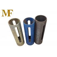 Q235 Material Adjustable Scaffolding Prop Sleeve For Locking Tube 60mm Manufactures
