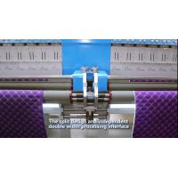 High Capacity Industrial Embroidery Machines 34 Heads 300 G/M2 Quilting Thickness Manufactures