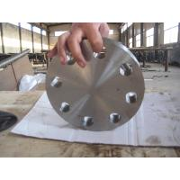 China EN 1.4547 254SMO Super Duplex Stainless Steel Flanges Blind Type For Power Generation on sale