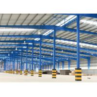 Prefabricated Steel Structure Warehouse Construction With Portal Structure Manufactures