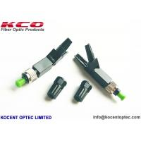 China SM Monomode Fiber Optic Fast Connector FC UPC APC FTTH Quick Field RoHS Approval on sale