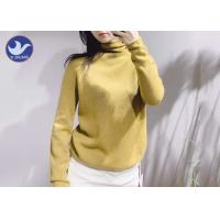 Buy cheap Women Cashmere Sweater Turtle Neck Roll Edge Winter Knitwear from wholesalers
