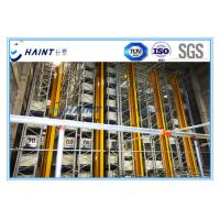 Steel Automated Storage Retrieval System , Automated Warehouse System Heavy Duty Manufactures