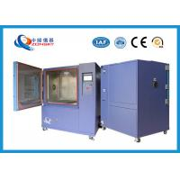 IP5X IP6X Sand And Dust Chamber , Sand / Dust Test Chamber Air Temperature 0~35 ℃ Manufactures