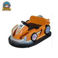 China Outdoor Amusement Park Bumper Cars Adjustable Speed With Colorful LED Light on sale