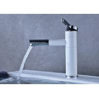 Deck Mounted Bathroom Vanity Faucets , Bathroom Water Faucet Thermostatic ROVATE