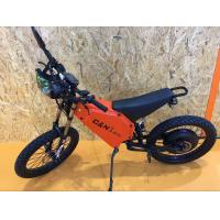 72V 8000W Hot Sale Enduro Ebike Mountain Ebike with Fast Speed 12km/h Manufactures