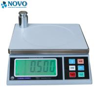 China ABS Plastic Digital Weighing Scale , Digital Weight Meter 1g Accuracy on sale