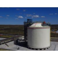 Industry Cryogenic LNG Storage Tanks 20000m3 Vertical And Horizontal Type Manufactures